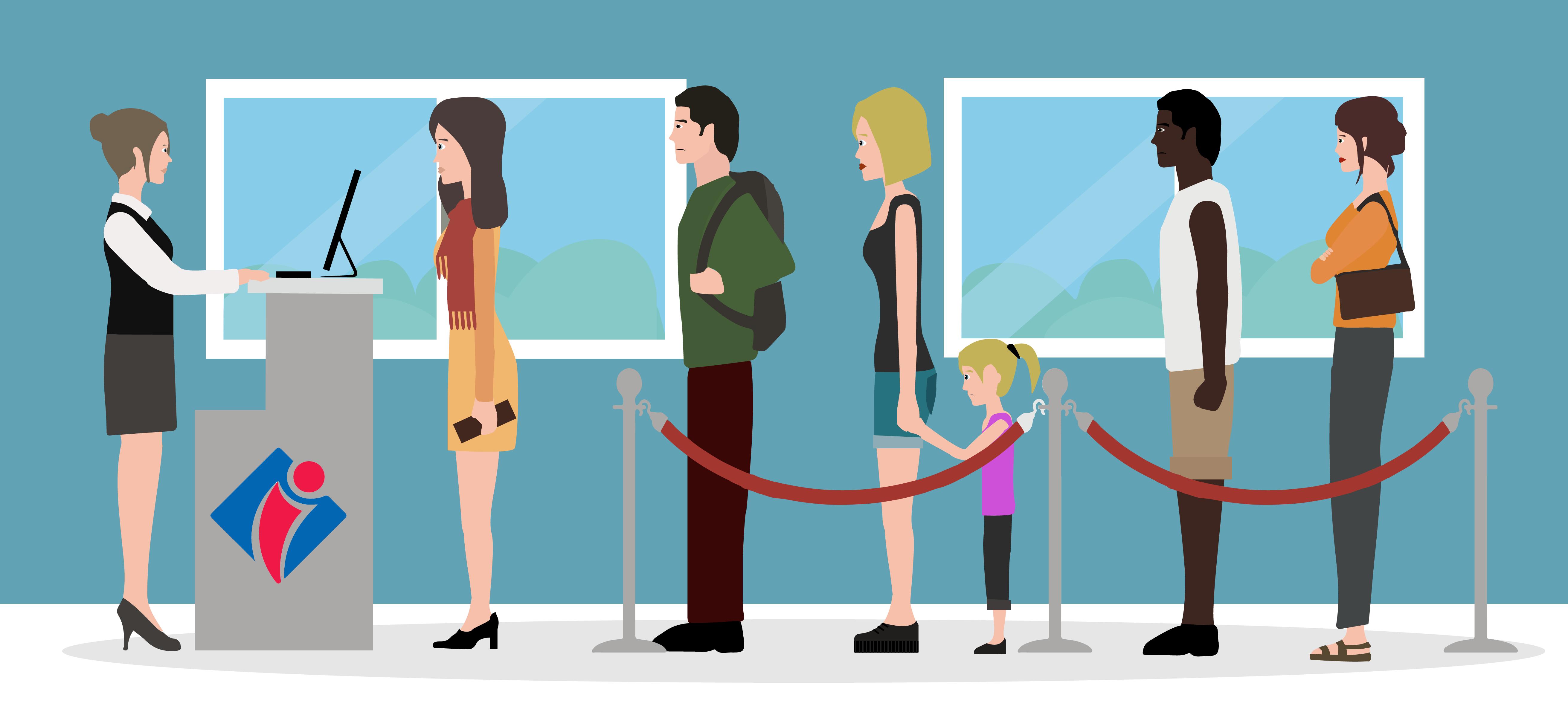 Formations accueil en office de tourisme welcome manager accueil attente passive etape 1