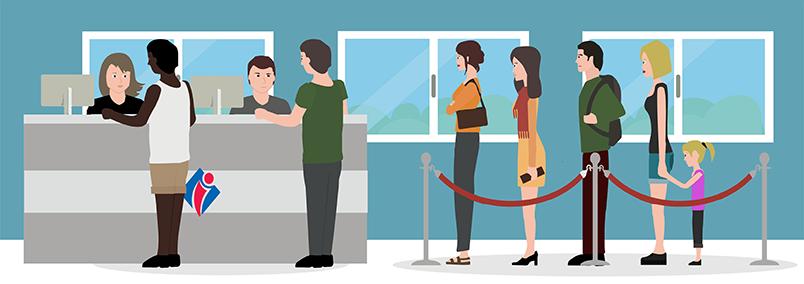 Formations accueil en office de tourisme welcome manager accueil attente passive etape 2