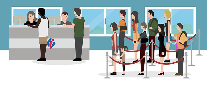 Formations accueil en office de tourisme welcome manager accueil attente passive etape 3