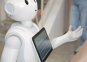pepper robot accueil numérique hauterives office de tourisme de dromardèche office de tourisme formation